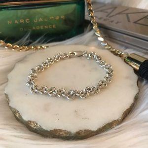 ✨3/$10✨ [boutique] sterling silver link bracelet